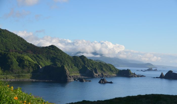 佐渡島の景色