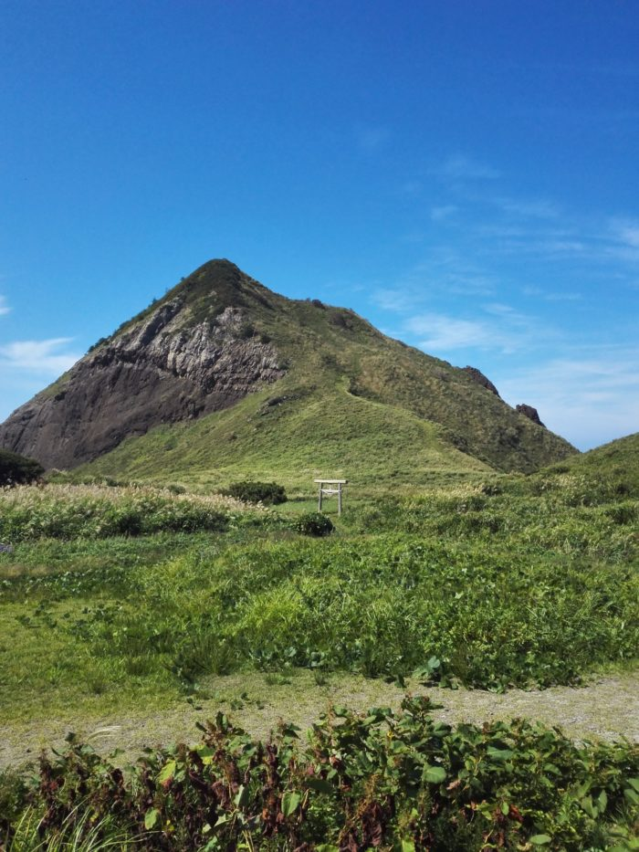 佐渡島の大野亀