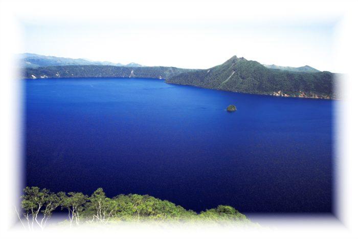 裏摩周展望台から見た景色