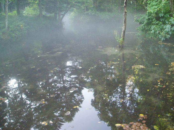 綺麗な裏摩周湖